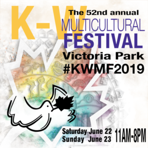 Info Table at the KW Multicultural Festival #KWMF2019 @ Victoria Park