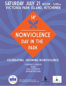 14th Nonviolence Day In The Park @ Roos Island, Victoria Park